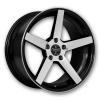 Versante 504 18X8 Black Machined