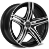 Versante 506 17X7.5 Black Machined