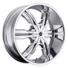 Strada Verto Chrome 22 X 9.5 Inch Wheels