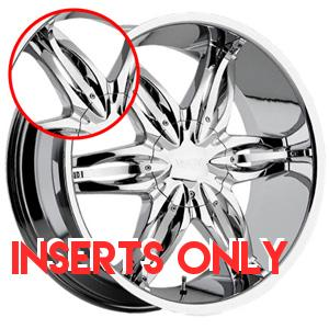 Viscera VSC 778 Chrome Inserts