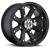 Vision 393 Lock Out 12X7 Matte Black