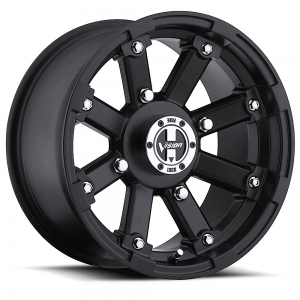 Vision 393 Lock Out 15X8 Matte Black