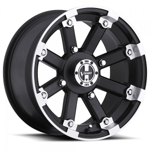 Vision 393 Lock Out 15X7 Matte Black with Machine Face