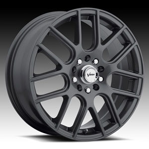 Vision 426 Cross Gunmetal 15 X 6.5 Inch Wheels