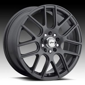 Vision 426 Cross Gunmetal 15 X 6.5 Inch Wheels
