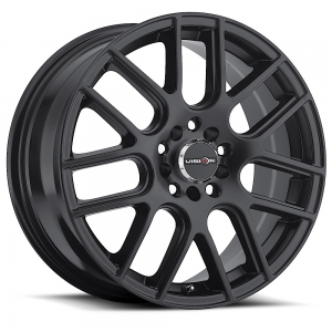 Vision 426 Cross 14X5.5 Matte Black