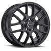 Vision 426 Cross 17X7.5 Matte Black