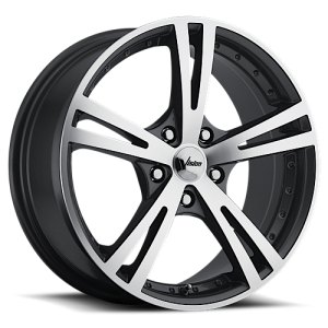 Vision 463 Xcite 16X7.50 Gunmetal with Machined Face