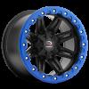 Vision 551 Five Five One Matte Black w- Blue Lip Armor
