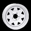 Vision 70 8 Spoke 14X5.5 White