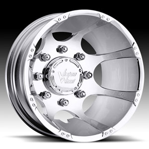 Vision 715 Crazy Eightz Chrome Rear Wheel Packages