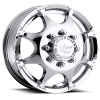 Vision 715 Crazy Eightz Duallie Front 16X6 Chrome