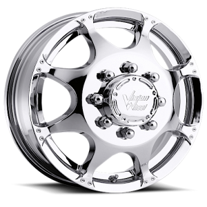 Vision 715 Crazy Eightz Duallie Front Chrome