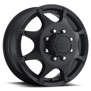 Vision 715 Crazy Eightz Duallie Front Matte Black