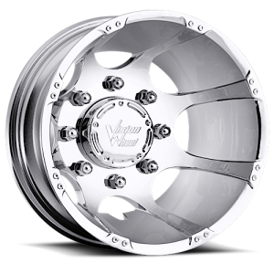 Vision 715 Crazy Eightz Duallie Rear Chrome