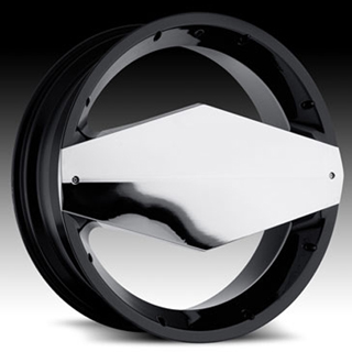 Vision Morgana Type 449 Gloss Black Chrome Wheel Packages