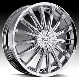 Vision Shattered Type 454 Chrome Wheel Packages