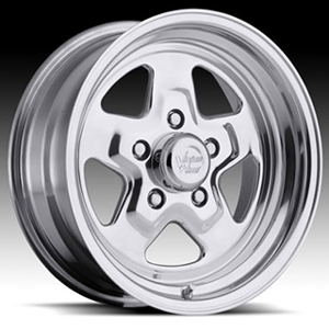 Vision Sport Star Type 521 Polished 15 X 4 Inch Wheels