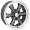 Vision 141 Legend 6 Black 15 X 7 Inch Wheels