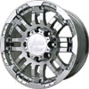 Vision 375 Warrior Chrome 16 X 8 Inch Wheels