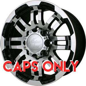 Vision 375 Warrior Machined Center Cap