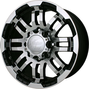 Vision 375 Warrior Machined Center Cap