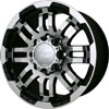 Vision 375 Warrior Machined 15 X 7.5 Inch Wheels