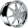Vision 378 Kryptonite Chrome 16 X 7 Inch Wheels