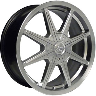 Vision 378 Kryptonite Silver Wheel Packages