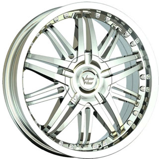 Vision 381 Avenger Chrome Wheel Packages