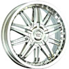 Vision 381 Avenger Chrome 17 X 7 Inch Wheels
