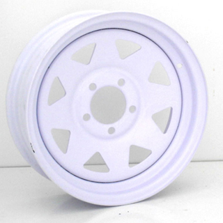 Vision Trailer Steel 8 Spoke Wheel Packages