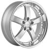 Vossen VVS 084 Silver 22 X 8.5 Inch Wheel