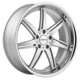 Vossen VVS 086 Matte Silver Wheel Packages