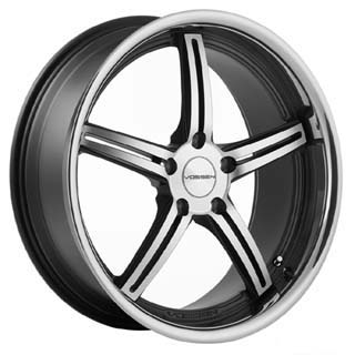 Vossen VVS 087 Matte Black Machined Wheel Packages