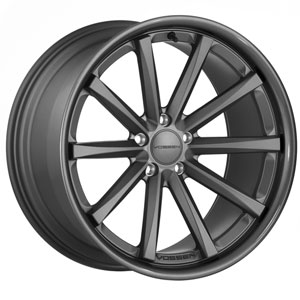 Vossen VVSCV1 Matte Graphite with Gloss Graphite Lip Wheel Packages