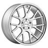 Vossen VVSCV2 Matte Silver Machined Face Stainless Lip 20 X 9 Inch Wheel