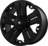 V-Rock Recon 17X9 Matte Black