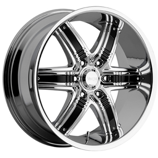Viscera VSC 777 with Black Inserts Wheel Packages