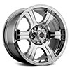 V-Tec 396 Assassin Chrome 20 X 9