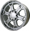 V-Tec 372 RAPTOR 17X8 Chrome