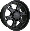 V-Tec 372 RAPTOR 16X8 Matte black