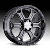 V-Tec Raptor 372 Phantom Black 16 X 8 Inch Wheels