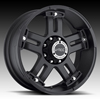 V-Tec Warlord 394 Matte Black Wheel Packages