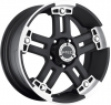 V-Tec 394 WARLORD black machined face