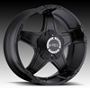 V-Tec Wizard 395 Matte Black with Optional Cap Wheel Packages