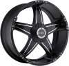 V-Tec 395 WIZARD black machined face