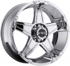 V-Tec 395 WIZARD 17X8.5 Chrome