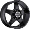 V-Tec 395 WIZARD 18X9 Matte black