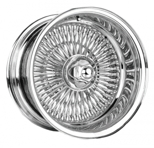 Warrior Wire Wheels WC 150 Spoke (FWD) Chrome